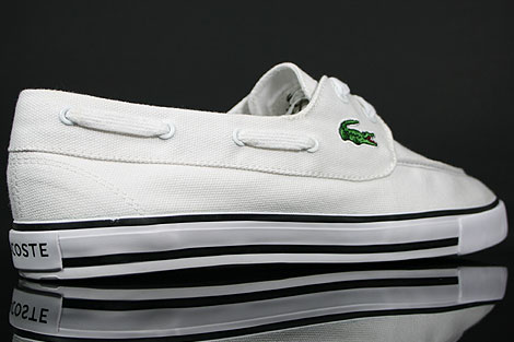 Lacoste Bateau SRM CNV White Over view