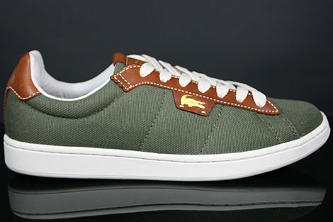 Lacoste Broadwick LB STM Khaki Brown Profile