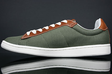 Lacoste Broadwick LB STM Khaki Brown Back view
