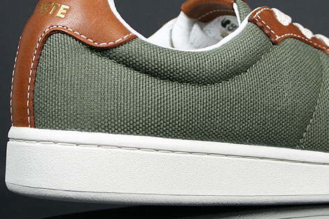 Lacoste Broadwick LB STM Khaki Brown Outsole