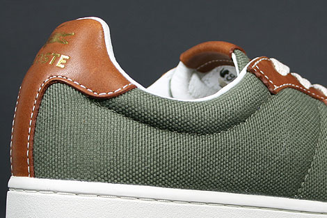 Lacoste Broadwick LB STM Khaki Brown Shoebox