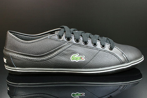Lacoste Cairon PS SPM LTH Black Dark Grey