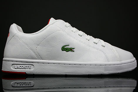 Lacoste Carnaby ET SPM White Flag Red