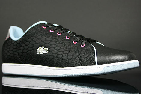 Lacoste Carnaby Lock HT-T SPW Black Light Blue Sidedetails