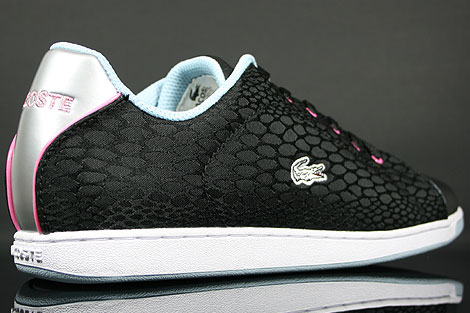 Lacoste Carnaby Lock HT-T SPW Black Light Blue Over view