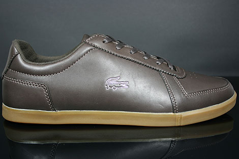 Lacoste Crosier 5 SRM Dark Brown Profile
