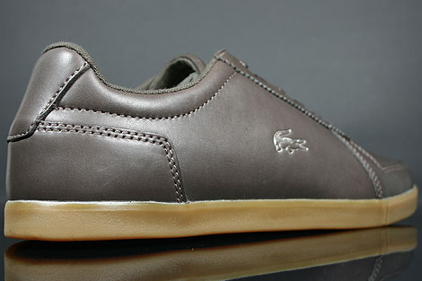 Lacoste Crosier 5 SRM Dark Brown Over view