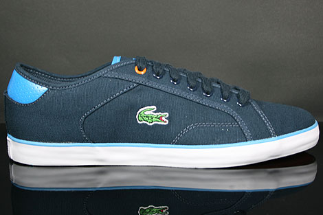 Lacoste Darton BP SPM Canvas Dark Blue White Profile