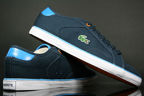 Lacoste Darton BP SPM Canvas Dark Blue White Outsole