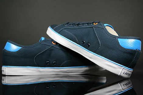 Lacoste Darton BP SPM Canvas Dark Blue White Shoebox