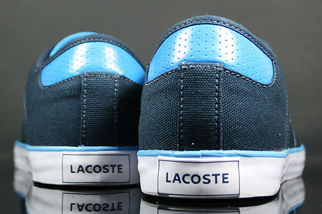 Lacoste Darton BP SPM Canvas Dark Blue White