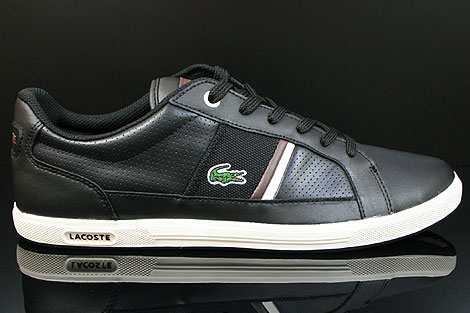 Lacoste Europa CI SPM LTH Black Dark Brown Right