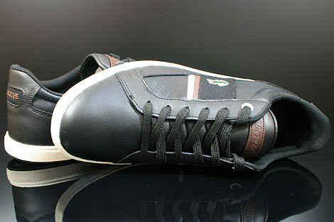Lacoste Europa CI SPM LTH Black Dark Brown Over view