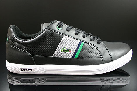 Lacoste Europa CRE SPM LTH Black Grey Right
