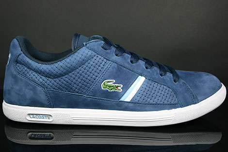 Lacoste Europa L NG SPM Navy Light Blue Profile