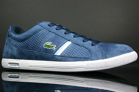 Lacoste Europa L NG SPM Navy Light Blue Sidedetails