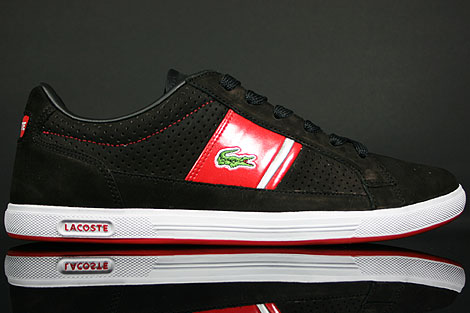 Lacoste Europa Lace NK SPM Black Red