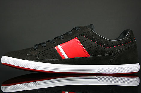 Lacoste Europa Lace NK SPM Black Red Back view