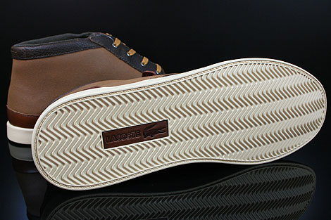 Lacoste Fairbrooke 11 SRM LTH Brown Tan Outsole