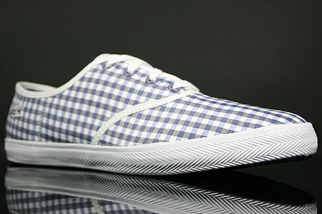Lacoste Gambetta GMP SPW Blue White Sidedetails