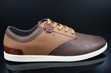 Lacoste Gilford 5 SRM LTH Brown Tan Right