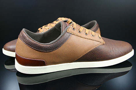 Lacoste Gilford 5 SRM LTH Brown Tan Inside