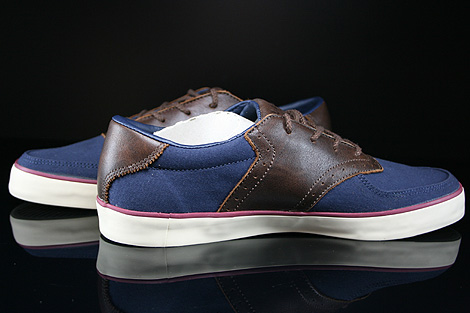 Lacoste Glendon Brogue SRM Dark Blue Dark Brown Inside
