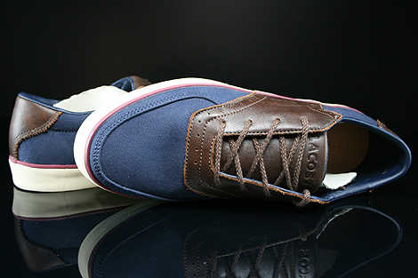 Lacoste Glendon Brogue SRM Dark Blue Dark Brown Over view