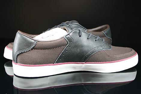 Lacoste Glendon Brogue SRM Dark Brown Black Inside