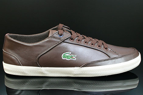 Lacoste Haneda CI SPM LTH Dark Brown Off White Right