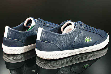 Lacoste Haneda CI SPM LTH Dark Blue White Back view