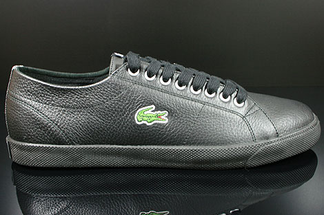 Lacoste Marcel CIW SPM LTH Black Dark Grey Right