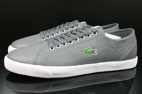 Lacoste Marcel CIW SPM LTH Dark Grey Light Grey Profile