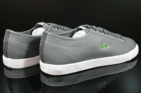 Lacoste Marcel CIW SPM LTH Dark Grey Light Grey Back view