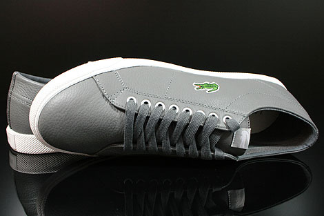 Lacoste Marcel CIW SPM LTH Dark Grey Light Grey Over view