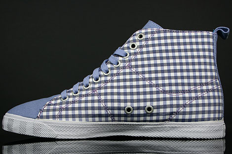 Lacoste Marcel Hi GMP SPW Blue White Back view