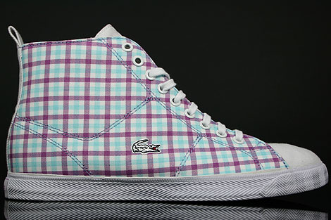 Lacoste Marcel Hi GMP SPW White Light Purple Right