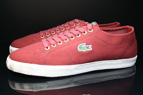 Lacoste Marcel TBC SPM Dark Red Profile
