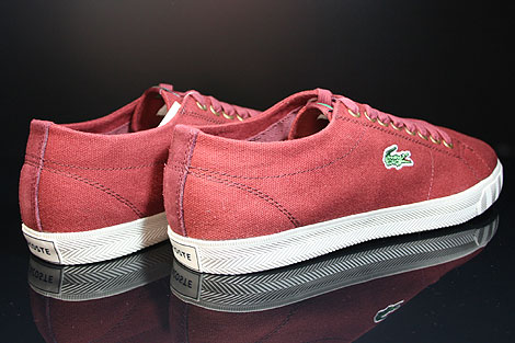 Lacoste Marcel TBC SPM Dark Red Back view