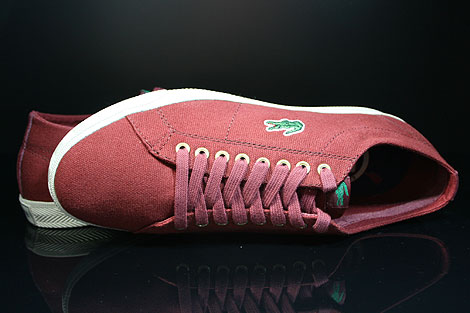 Lacoste Marcel TBC SPM Dark Red Over view