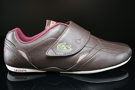 Lacoste Protect MTS SPM Dark Brown Dark Red Right