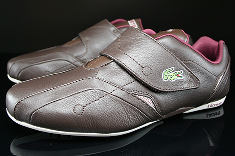 Lacoste Protect MTS SPM Dark Brown Dark Red Sidedetails