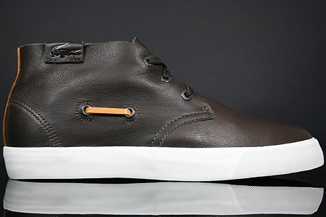 Lacoste Scala 2 SRM LTH Brown Right