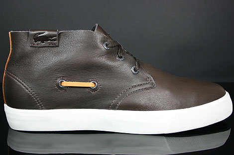 Lacoste Scala 2 SRM LTH Brown Profile