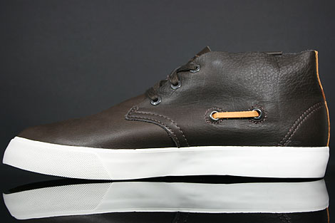 Lacoste Scala 2 SRM LTH Brown Back view