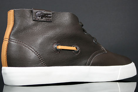 Lacoste Scala 2 SRM LTH Brown Over view