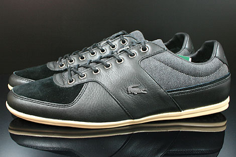 Lacoste Taloire 10 SRM Leather Black Profile
