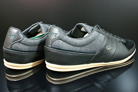Lacoste Taloire 10 SRM Leather Black Back view