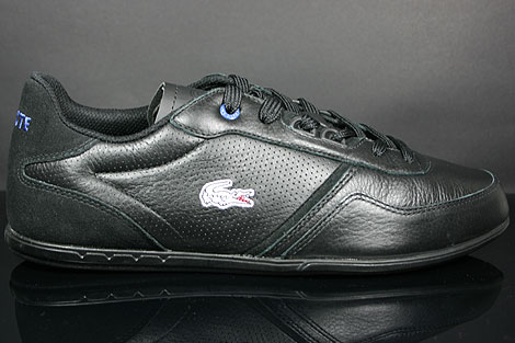Lacoste Wolcott HC SPM Black Royal Blue Profile