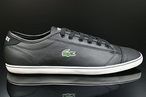 Lacoste Wyken CI SPM LTH Black Off White Right